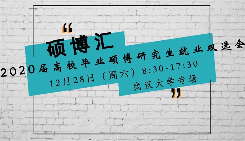 12月28日武汉大学硕博(含本)招聘会公